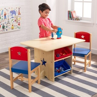 KidKraft Star Table and Chair Set - multi