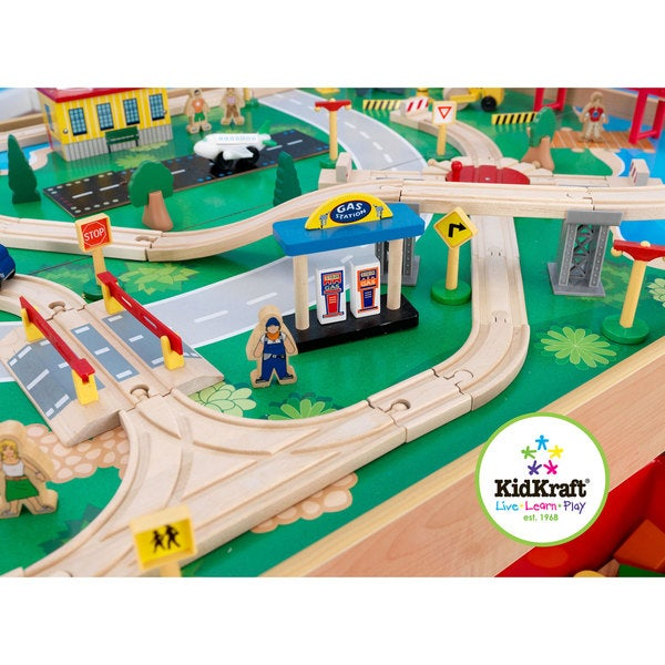 Superior KidKraft Waterfall Mountain Train Set And Table   Free Shipping Today    Overstock.com   15562158
