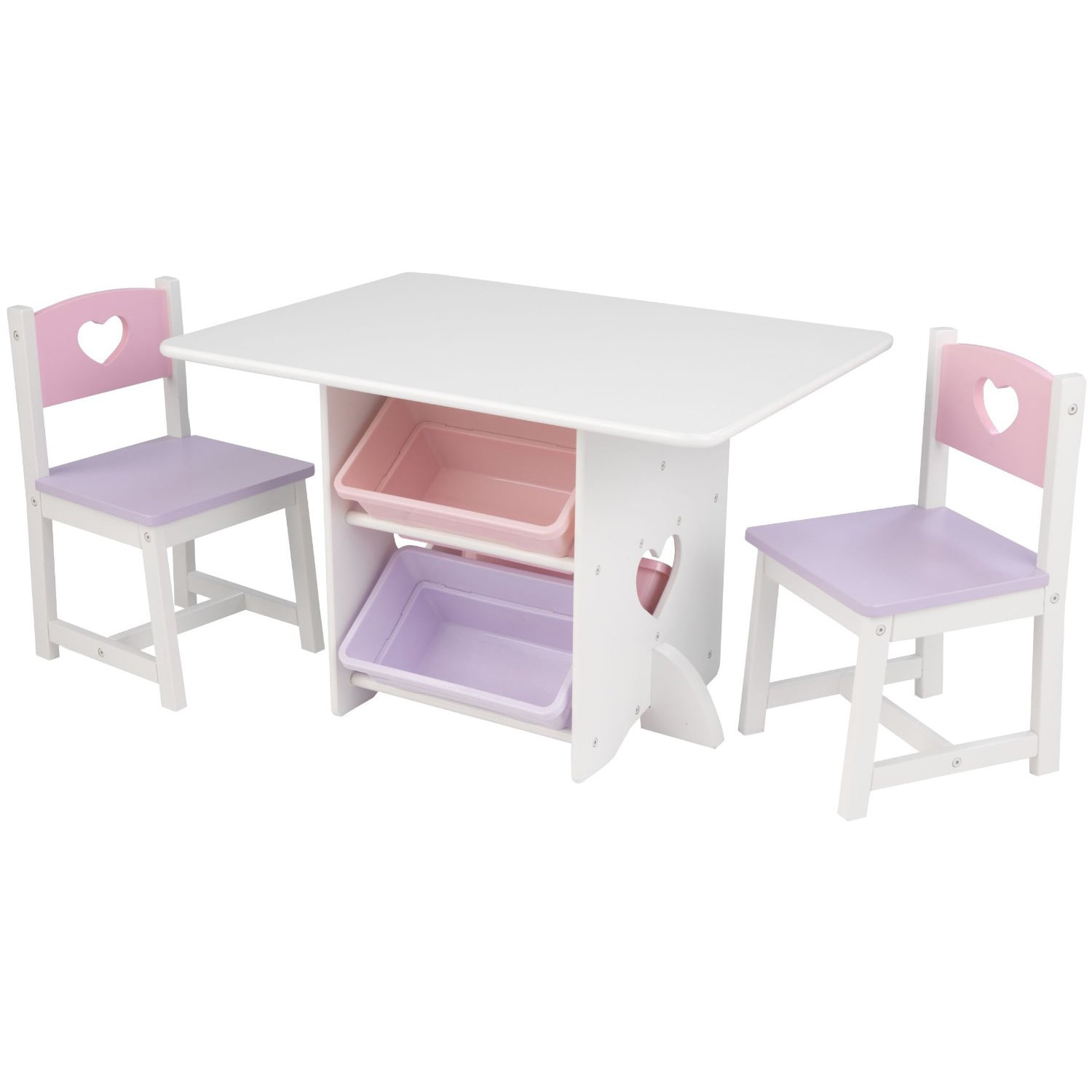 Kid Kraft Heart Table and Chair Set (Heart Table and Chai...
