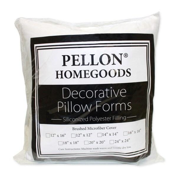 Shop Pellon White Decorative Pillow Insert Free Shipping On Orders Beauteous 12 X 21 Pillow Insert