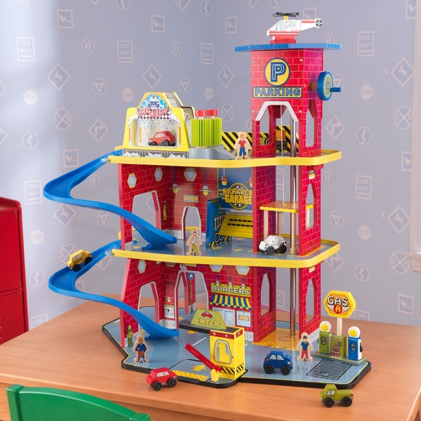 Overstock Toys For Boys : Shop kidkraft toy garage playset free shipping today
