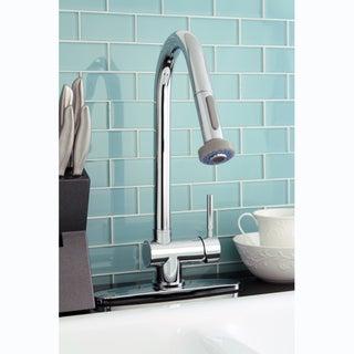 Pullout Spout Chrome Kitchen Faucet