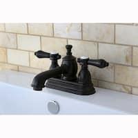 Oil Rubbed Bronze Widespread Bathroom Faucet