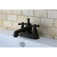 French Country Oil Rubbed Bronze Widespread Bathroom Faucet