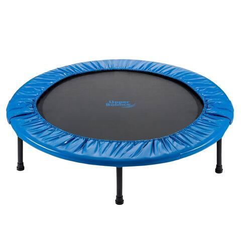 Upper Bounce 40-inch Mini Foldable Rebounder Fitness Trampoline