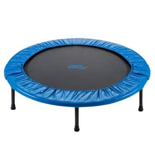 Upper Bounce 40-inch Mini Foldable Rebounder Fitness Trampoline|https://ak1.ostkcdn.com/images/products/8233226/P15562191.jpg?impolicy=medium