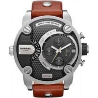 Diesel Men's Black Dial Dual Time Watch