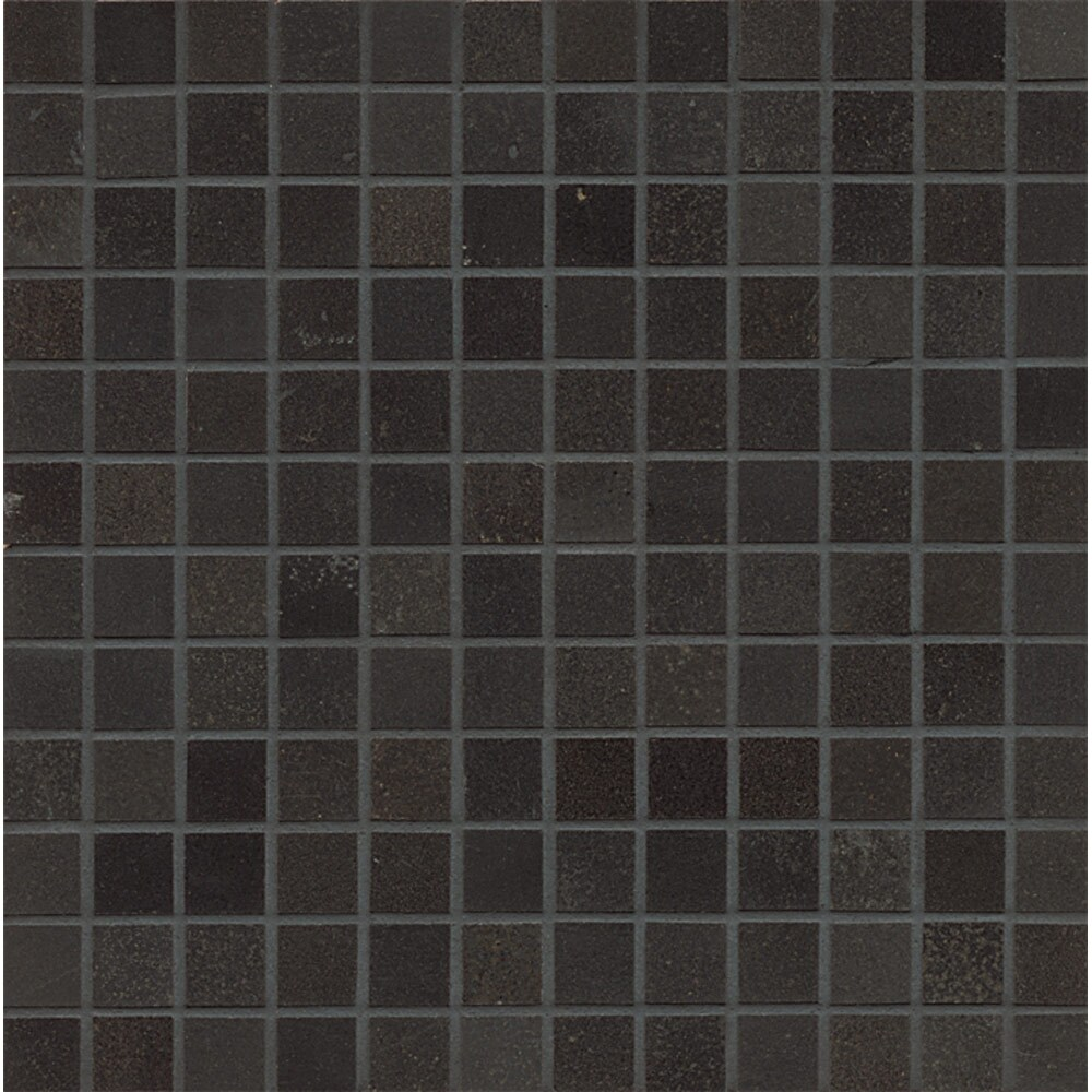 Absolute Black Polished Granite Mosaic