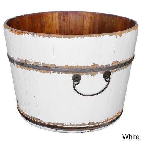 Wooden Rice Bucket