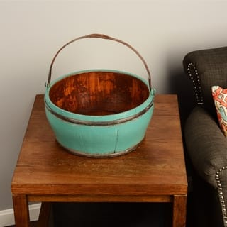 Wooden Vintage Kitchen Bucket https://ak1.ostkcdn.com/images/products/8233453/P15562338.jpg?impolicy=medium