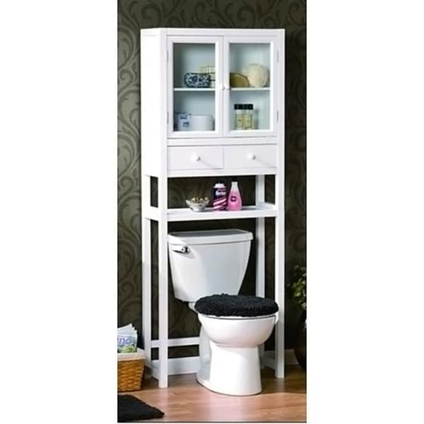 Shop Space Saver Over The Toilet Cabinet White Free