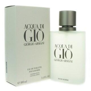 Link to Giorgio Armani Acqua Di Gio Men's 3.4-ounce Eau de Toilette Spray Similar Items in Perfumes & Fragrances
