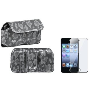 INSTEN Horizontal Pouch/ Screen Protector for Apple iPod Touch 4