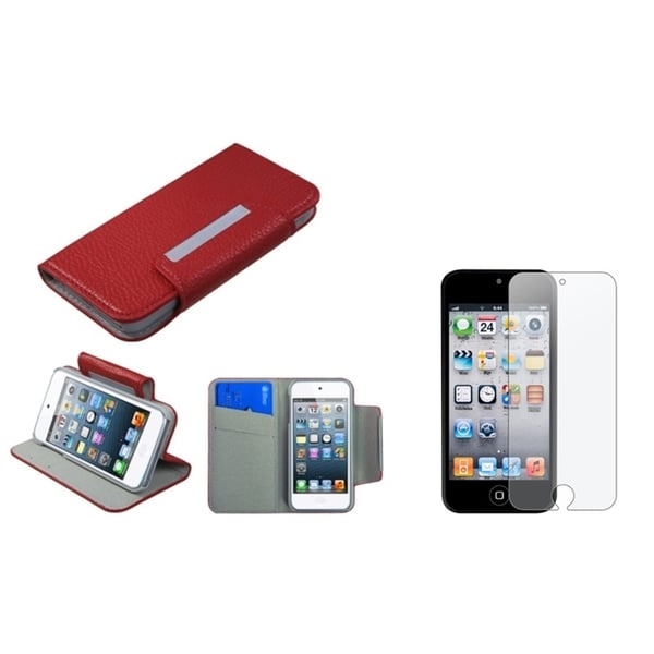 BasAcc Case/ Anti-glare Screen Protector for Apple® iPod Touch 5
