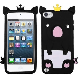 Link to Insten Black/ White 3D Pig Silicone Skin Gel Rubber Case Cover For Apple iPod Touch 5th/ 6th Gen Similar Items in MP3 & iPod Accessories