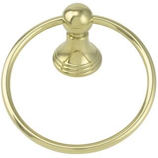 Jado Classic Victorian Diamond Gold Towel Ring