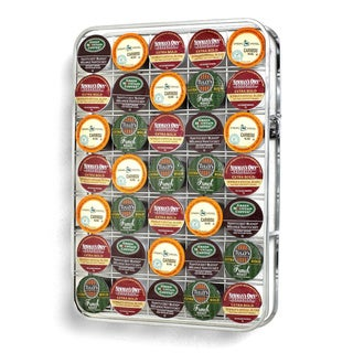 35 Cup Chrome Universal K Cup Storage Rack