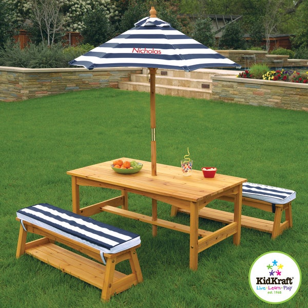 KidKraft Outdoor Table and Bench Set - Shop KidKraft Outdoor Table And Bench Set - Free Shipping Today