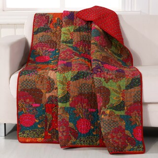 Greenland Home Fashions Jewel Quilted Throw