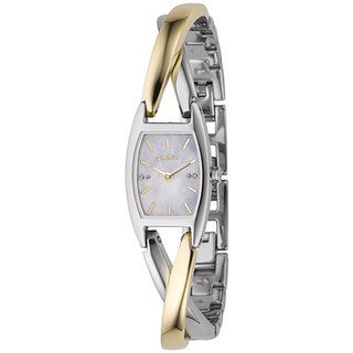DKNY Women's NY4634 Silver Stainless-Steel Quartz Watch with Mother-Of-Pearl Dial