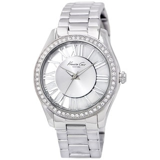 kenneth cole womens transparency kc4851 silver stainless