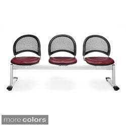 OFM Moon Series Vinyl 3-place Seating