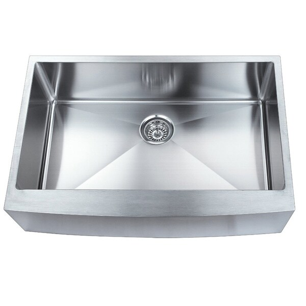 Undermount Apron Front Sink : ... Apron Front Single Bowl Undermount 304 Stainless Steel Kitchen Sink