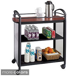 Safco Impromptu Beverage Hospitality Cart (2 options available)