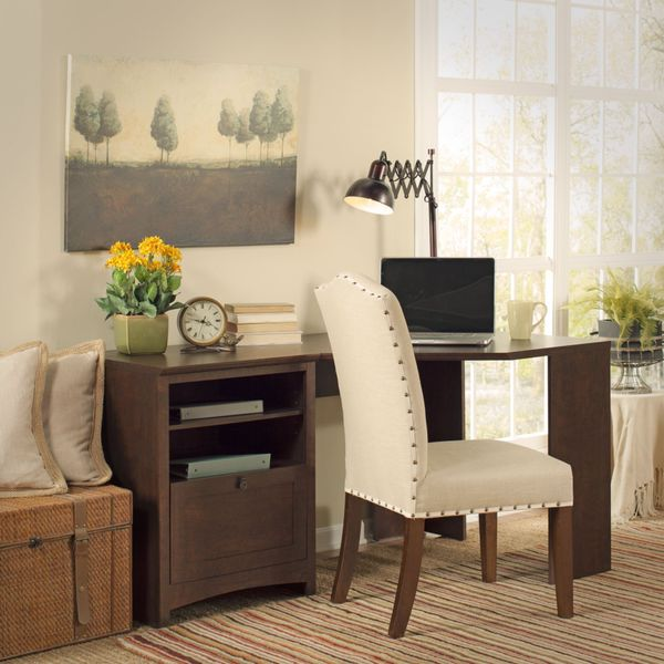 Bush Furniture 'Buena Vista' 60-inch Corner Desk - Free Shipping Today