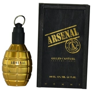 Gilles Cantuel Arsenal Gold Men's 3.4-ounce Eau de Parfum Spray