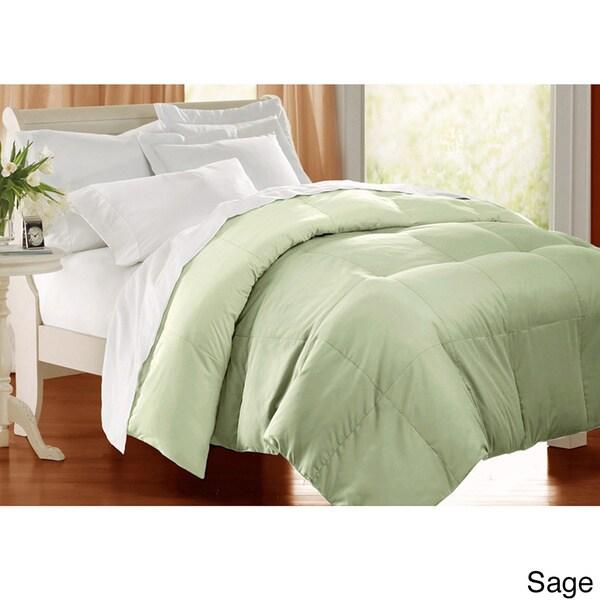 All season 233 TC Cotton Solid Color Down Alternative Comforter