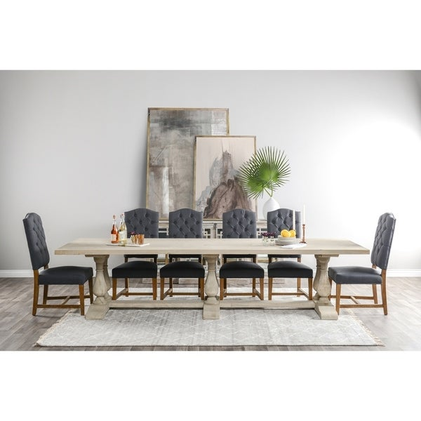 Nova Tufted Upholstered Dining Chair by Kosas Home