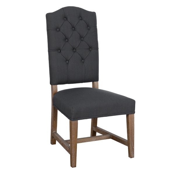 nova tufted upholstered dining chair by kosas home free shipping today overstock 15565464. Black Bedroom Furniture Sets. Home Design Ideas