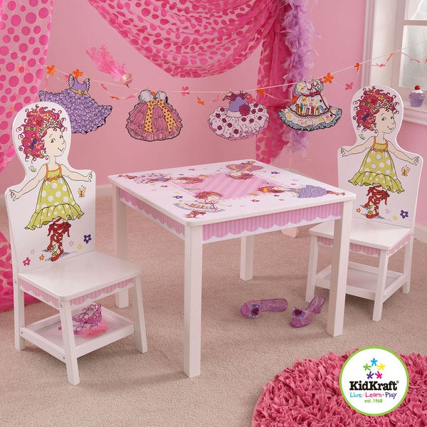 KidKraft Fancy Nancy Table and Chair Set