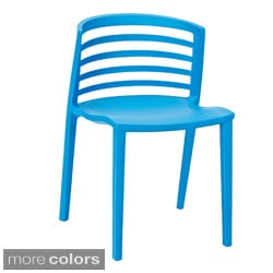 stencil chair in blue plastic free shipping today - Plastic Chair