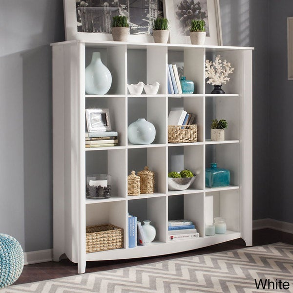 Bush Furniture Aero 16 Cube Bookcase/ Room Divider