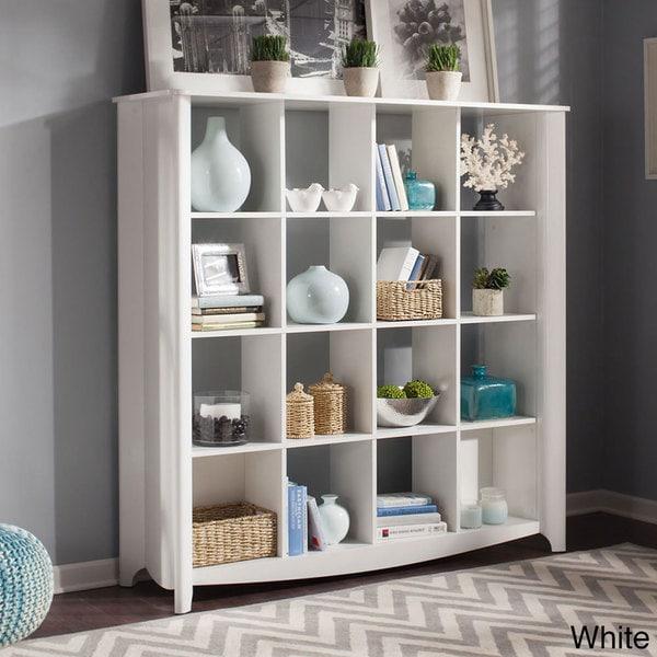 Aero 16 Cube Bookcase Room Divider