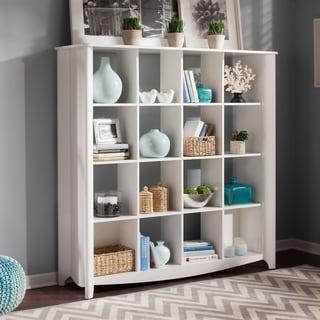 Clay Alder Home Dubuque Aero 16 Cube Bookcase/Room Divider