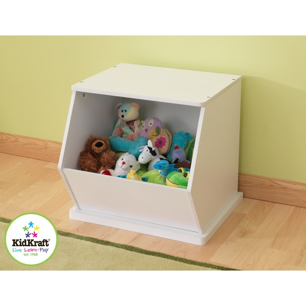 Good KidKraft White Single Storage Unit