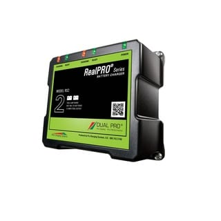 Dual Pro Recreation Series Dual Output Charger 2-6 AMP Bank RS2