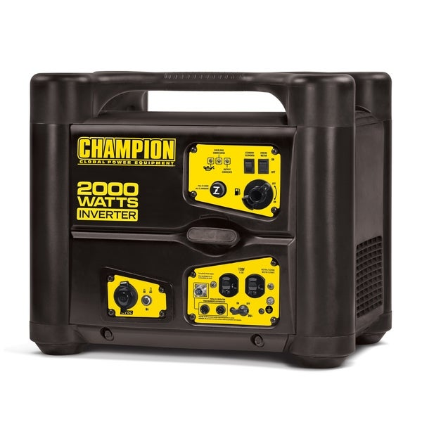 Shop Champion 2000-Watt Stackable Portable Inverter