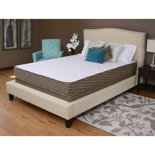 shop sullivan 10 inch comfort full size memory foam mattress by angelo home free shipping. Black Bedroom Furniture Sets. Home Design Ideas