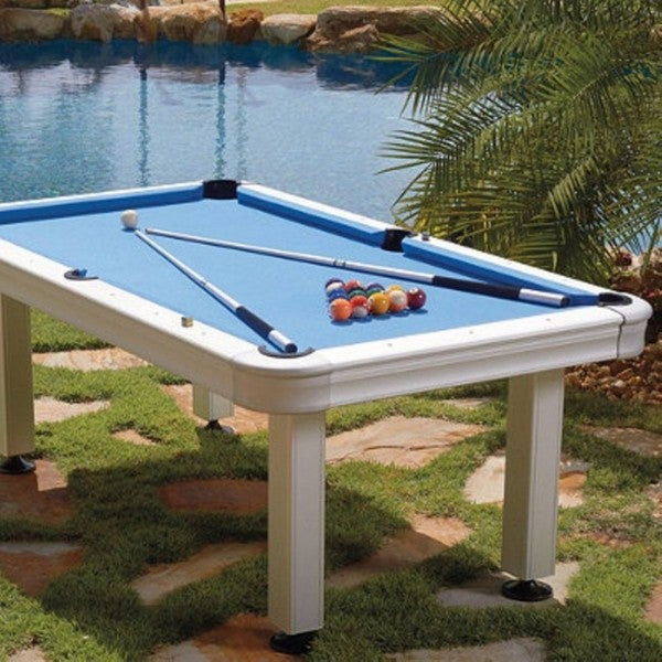 Imperial 7 foot non slate outdoor pool billiard table 29 for 9 ft garden pool