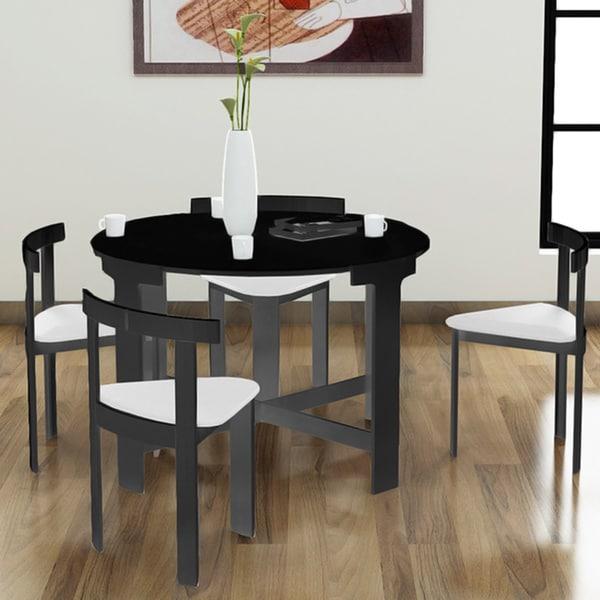 Nordic Midnight Infinity 5-piece Dinette Set