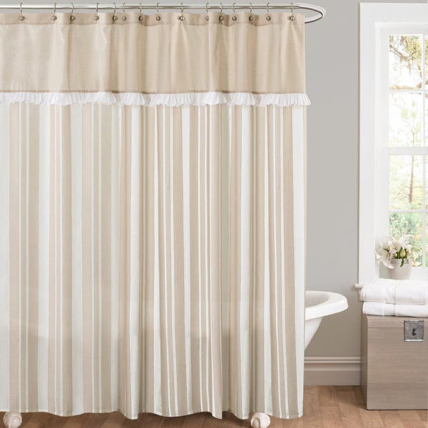 Overstock com shopping great deals on lush decor shower curtains