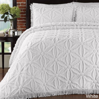 LaMont Home Arianna Cotton Chenille Bedspread Set (4 options available)