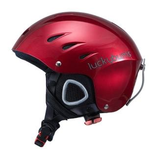 Lucky Bums Snow Sport Helmet, Red