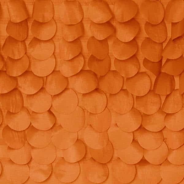 Lush Decor Lillian Orange Shower