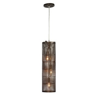 Varaluz Lit-Mesh Test 3-light New Bronze Foyer Pendant