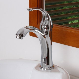 Elite 8821C Chrome Finish Single Lever Basin Faucet